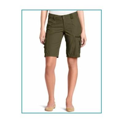 (ディッキーズ) Dickiesレディース 11インチ リラックスカーゴ ショーツ US サイズ: 6 Slim カラー: グリーン