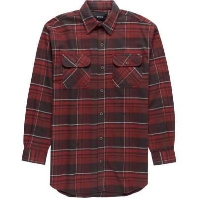 ストイック メンズ シャツ トップス Heavyweight Plaid Flannel Shirt