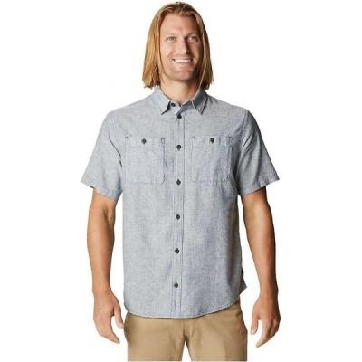 マウンテンハードウェア Mountain Hardwear メンズ 半袖シャツ トップス Piney Creek SS Shirt Blue Horizon