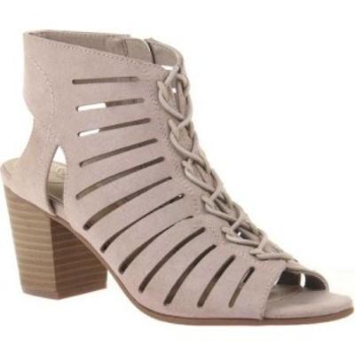 マデライン Madeline レディース サンダル・ミュール シューズ・靴 Seeker Caged Sandal Medium Taupe Textile
