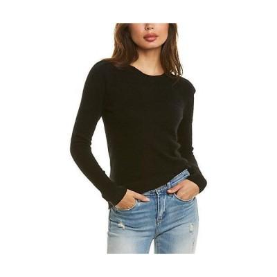 レディース ファッション  White + Warren Puffed Cashmere Sweater