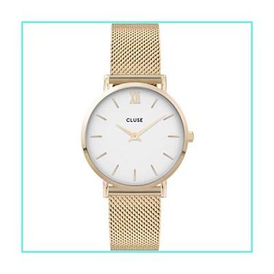 【新品】CLUSE Women's Quartz Watch with Stainless Steel Strap, Gold, 16 (Model: CW0101203007)(並行輸入品)