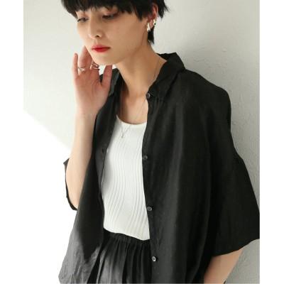 レディース ジャーナルスタンダード 【GALLEGO DESPORTES/ギャレゴデスポート】 Short sleeves shirt SP:シャツ ブラック M