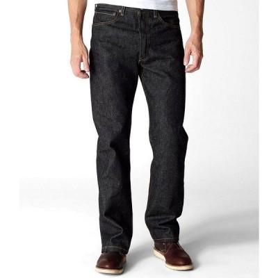 リーバイス メンズ デニムパンツ ボトムス Levi's 501 Original Shrink-to-Fit Jeans Black Rigid