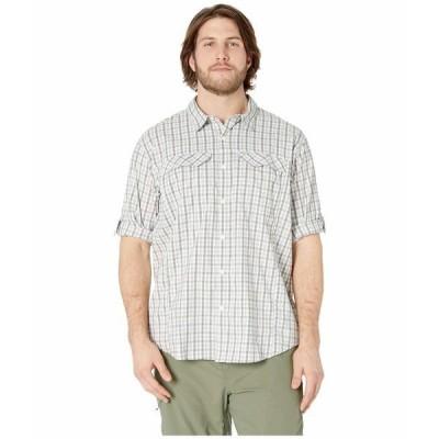 コロンビア シャツ トップス メンズ Big and Tall Silver Ridge Lite Plaid Long Sleeve Shirt Cypress Gingham