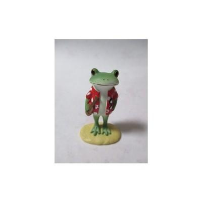 コポー アロハシャツのカエル(かえる 蛙)「風遊」