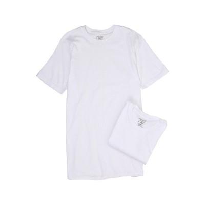 ジョッキー シャツ トップス メンズ Tall Man Cotton Crew Neck 2-Pack White
