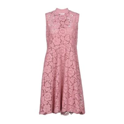 ヴァレンティノ VALENTINO ミニワンピース&ドレス ピンク 44 91% シルク 9% ポリウレタン ミニワンピース&ドレス