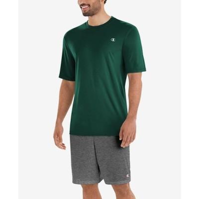 チャンピオン Tシャツ トップス メンズ Men's Double Dry T-Shirt Dark Green