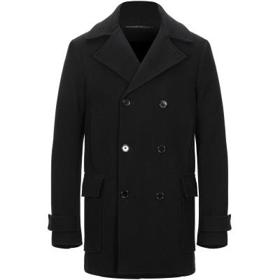 オスクレン OSKLEN コート ブラック S ウール 70% / ナイロン 30% コート