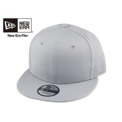 ☆NEWERA【ニューエラ】FLAT BILL SNAPBACK CAP GREY フラットビル スナップバック キャップ グレー NE400 13055