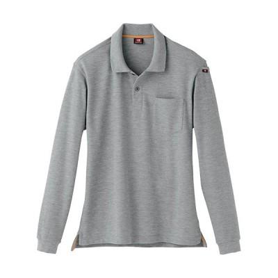 バートル(BURTLE) 作業服 長袖ポロシャツ メンズ レディース 56/ミドルグレー 505 作業着 ワークウエア 仕事着 まとめ買い ユニセックス