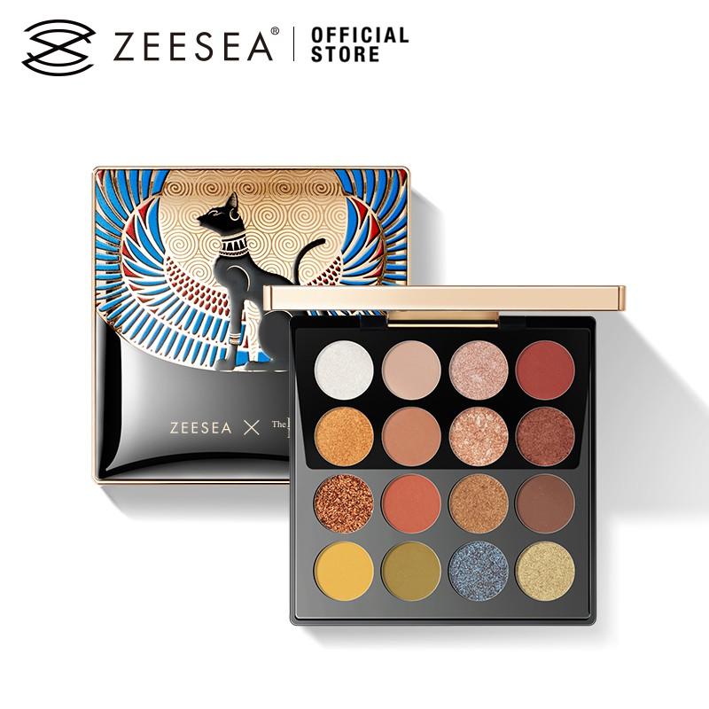 ZEESEA滋色埃及眼影盤16色不易脫色自然持久眼妝