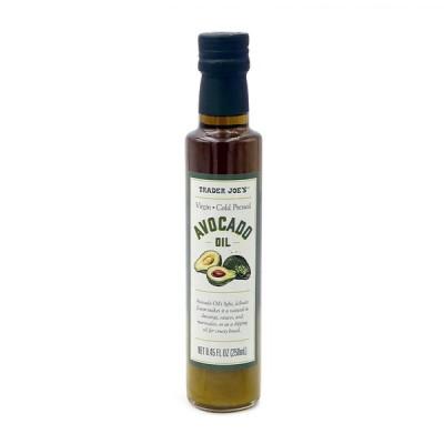 トレーダージョー ヴァージン コールドプレス アボカドオイル 250ml【Trader Joe's】Virgin Cold Pressed Avocado Oil 8.45 fl oz