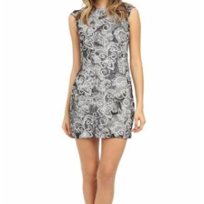 Aidan Mattox エイダンマトックス ファッション ドレス Aidan Mattox NEW Black Womens Size 12 Embroidered Lace Sheath Dress