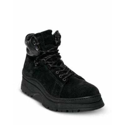 オールセインツ メンズ ブーツ・レインブーツ シューズ Men's Donte Lace Up Boots Black