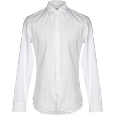 メゾン マルジェラ MAISON MARGIELA メンズ シャツ トップス solid color shirt White