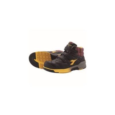 ディアドラ 安全作業靴 ステラジェイ 黒/黄 27.0cm SJ25270