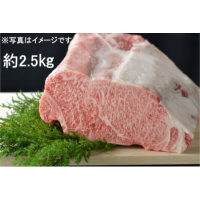 【2629-0096】東浦町産最高級A5ランク黒毛和牛 サーロインブロック(約2.5kg)