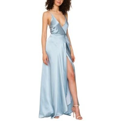 ユミキム レディース ワンピース トップス YUMI KIM Silk Dress antique blue