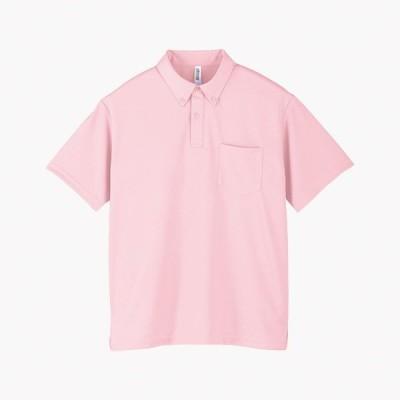 トムス チームTシャツ ユニフォーム 00331-132-M-ABP 4.4オンス ドライボタンダウンポロシャツ ライトピンク M 00331-132-M <2019AWCON>
