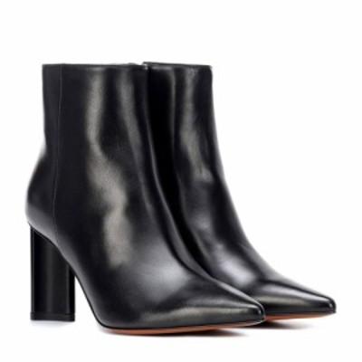 ロベール クレジュリー Clergerie レディース ブーツ ショートブーツ シューズ・靴 Katiaa leather ankle boots Black