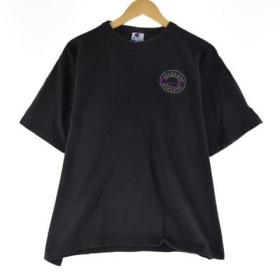90s チャンピオン ワンポイントロゴTシャツ メンズL /eaa073165