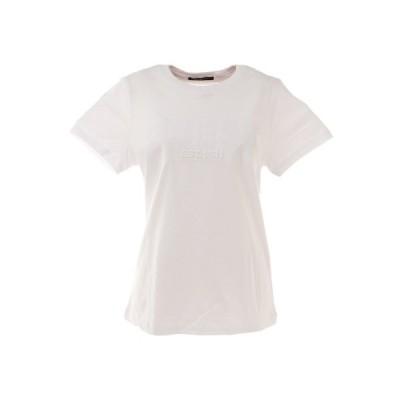 ゲス(GUESS) エンボスTシャツ YL2K8436KWHT (レディース)