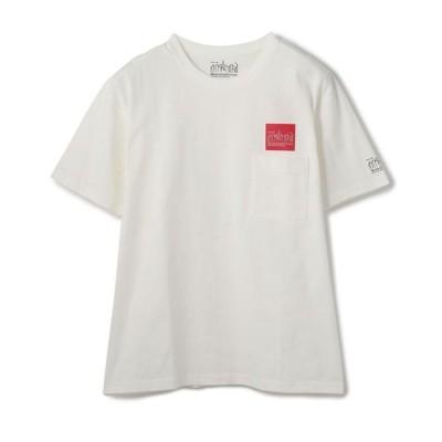 【ショット】Manhattan Portage/マンハッタン ポーテージ/Box Logo Pocket T−Shirt/ボックスロゴTシャツ