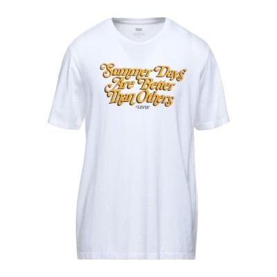 LEVI' S T シャツ ホワイト L コットン 100% T シャツ