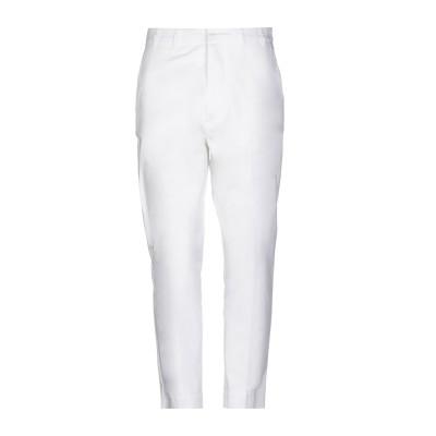 I'M BRIAN パンツ ホワイト 48 コットン 97% / ポリウレタン 3% パンツ