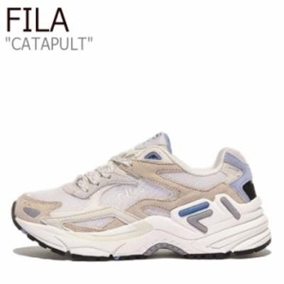 フィラ スニーカー FILA メンズ レディース CATAPULT カタパルト BEIGE ベージュ 1GM00830-924 シューズ