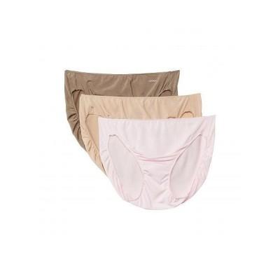 Jockey ジョッキー レディース 女性用 ファッション 下着 ショーツ No Panty Line Promise Tactel Bikini 3-Pack - Frosty Pink/Light/Deep Beige