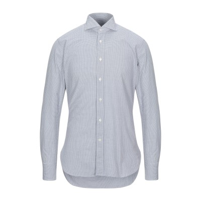 GUGLIELMINOTTI シャツ ホワイト 40 コットン 100% シャツ