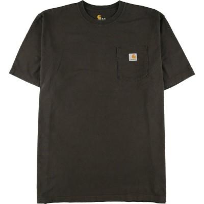 カーハート Carhartt ワンポイントロゴポケットTシャツ メンズXXL /eaa151759