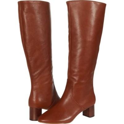 スティーブン ニューヨーク STEVEN NEW YORK レディース ブーツ シューズ・靴 Reallie Cognac Leather