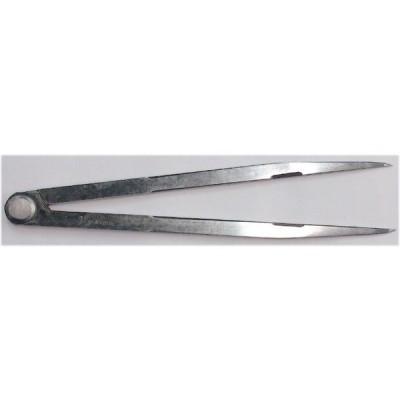 鋼製コンパスD 25cm  シンワ測定 77536  【451】