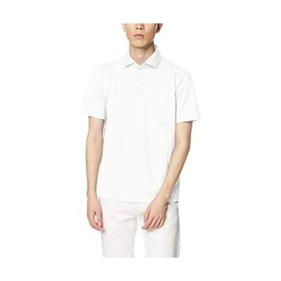 [ジム] ポロシャツ アメリカン・シーアイランドコットン・ドライポロ メンズ (ホワイト XL)