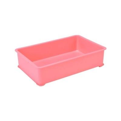 EBM PPカラー番重 B型 小 ピンク(サンコー製)