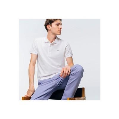 LACOSTE / スリムフィットソリッドポロシャツ(半袖)
