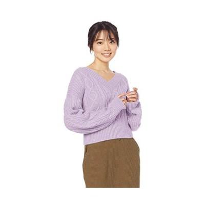 [エヌナチュラルビューティーベーシック*] セーター バックリボンケーブルニット 166-0170805 レディース #N/A 日本 M (日本サイズ