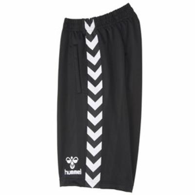 ヒュンメル(hummel) ハーフパンツ HAT6069 ブラック 【サッカー フットサル トレーニングウェア ボトムス ズボン】