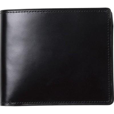 コードバン折財布 S-NOM153102BK