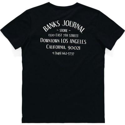 バンクス Banks メンズ Tシャツ トップス Downtown L.A Short Sleeve T-Shirt Dirty/Black