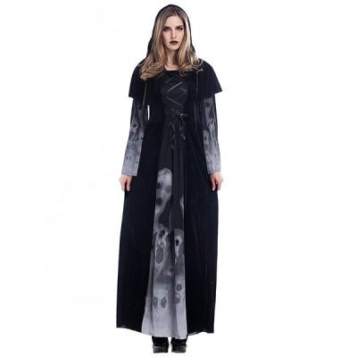 ハロウィンコスプレ衣装怖い悪魔吸血鬼 女 スケルトンボディスーツでの発光常夜灯カーニバルパーティー服 大人