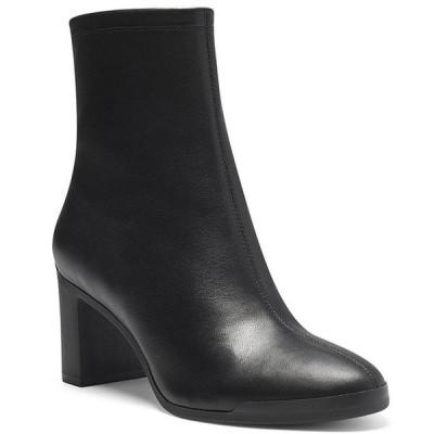 コルソ コモ レディース ブーツ・レインブーツ シューズ Ellie Leather Block Heel Booties