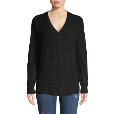 ジェシカシンプソン レディース ニット&セーター アウター Seana V-Neck Sweater Black