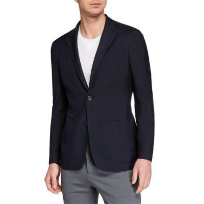 エルメネジルド・ゼニア メンズ ジャケット・ブルゾン アウター Men's Cashmere/Silk Blazer