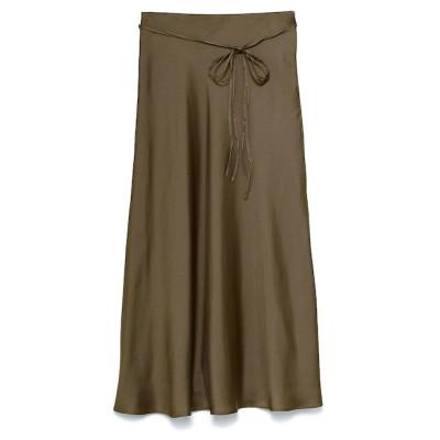 【ミラオーウェン/Mila Owen】 サテンスカート
