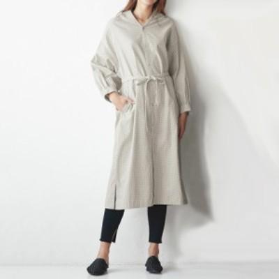 セールアイテム ファッション ワンピース チュニック マキシワンピース TEEE/ティー ドットコーデュロイコートドレス PC7101